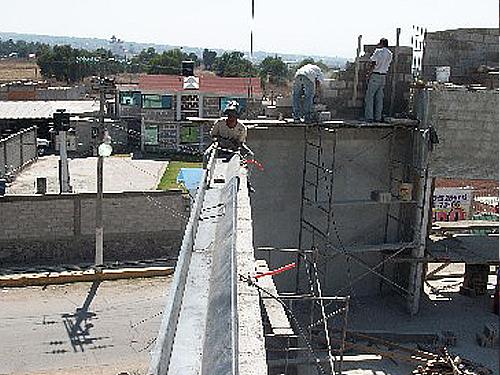 Canalon de concreto