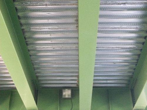 lámina corrugada de acero galvanizado estructural