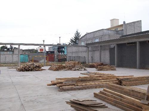 Montaje de techo curvo