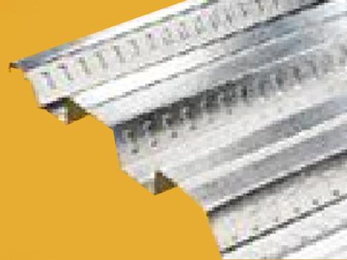 Losacero lámina corrugada de acero