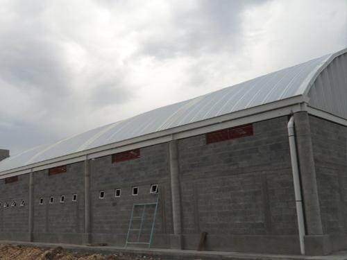 Bajadas de agua para techos curvos