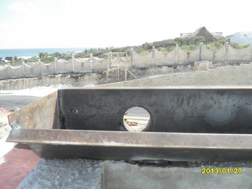 Construimos bajadas de agua