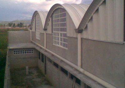 instalacion de arcotecho en Chinconcuac
