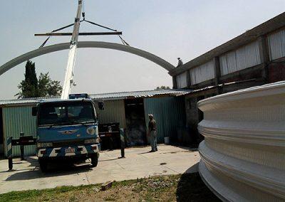 Construccion de naves industriales en Chalco