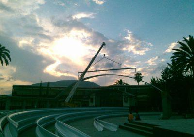 techado autosoportante en Huichapan
