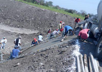 Techos curvos laminados en Ingenio La Gloria México