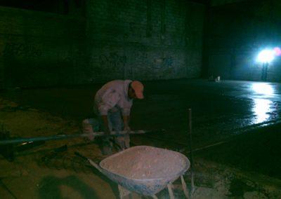 Construcción de techo curvo laminado en Papalotla