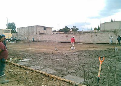 Instalación de arquitecho en Papalotla