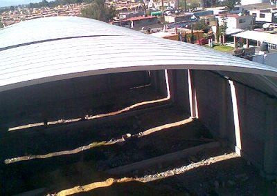 Instalacion de techo autosoportante Piedras negras