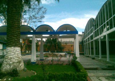 instalación de Cancelería policarbonato