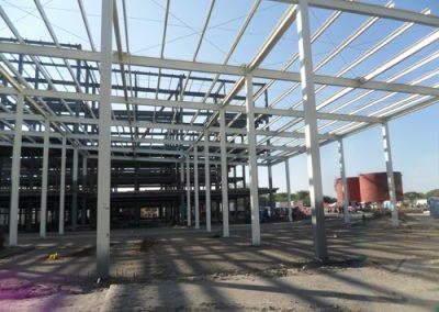 Instalacion de techo autosoportante en El Coyote Veracruz