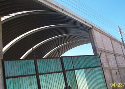 Instalacion de techo autosoportante en Gema Tulancingo México