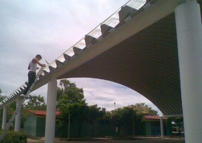 Construccion de naves industriales en Ixtapa México