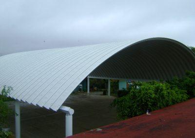 instalacion de arcotecho en Ixtapa México