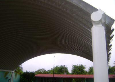 Construccion de arcotecho en Ixtapa México