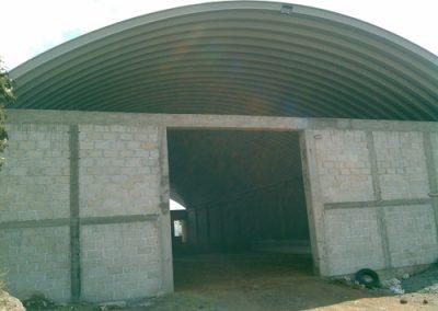 Construcción de arcotecho en Pachuca Hidalgo