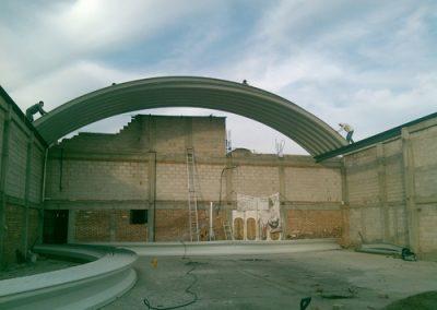 arcotecho instalado en Pachuca Hidalgo