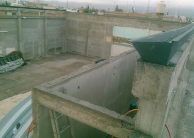 construcción de Templo en San Luis Potosí