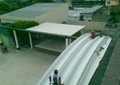 Instalación de arquitech en Tempoal Veracruz