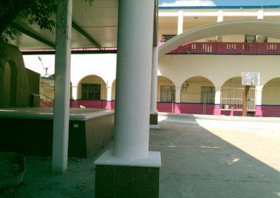 construcción de arcotecho en Tempoal Veracruz